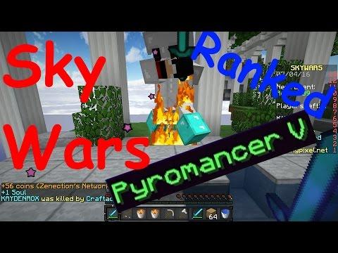 Purchasing Max Pyromancer - Ranked Skywars