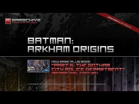 Batman: Arkham Origins (PS3) Gamechive (Part 5/17: Gotham City Police Department) [NG+]