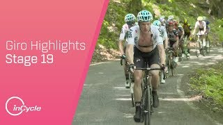Giro d'Italia 2018 | Stage 19 Highlights | inCycle