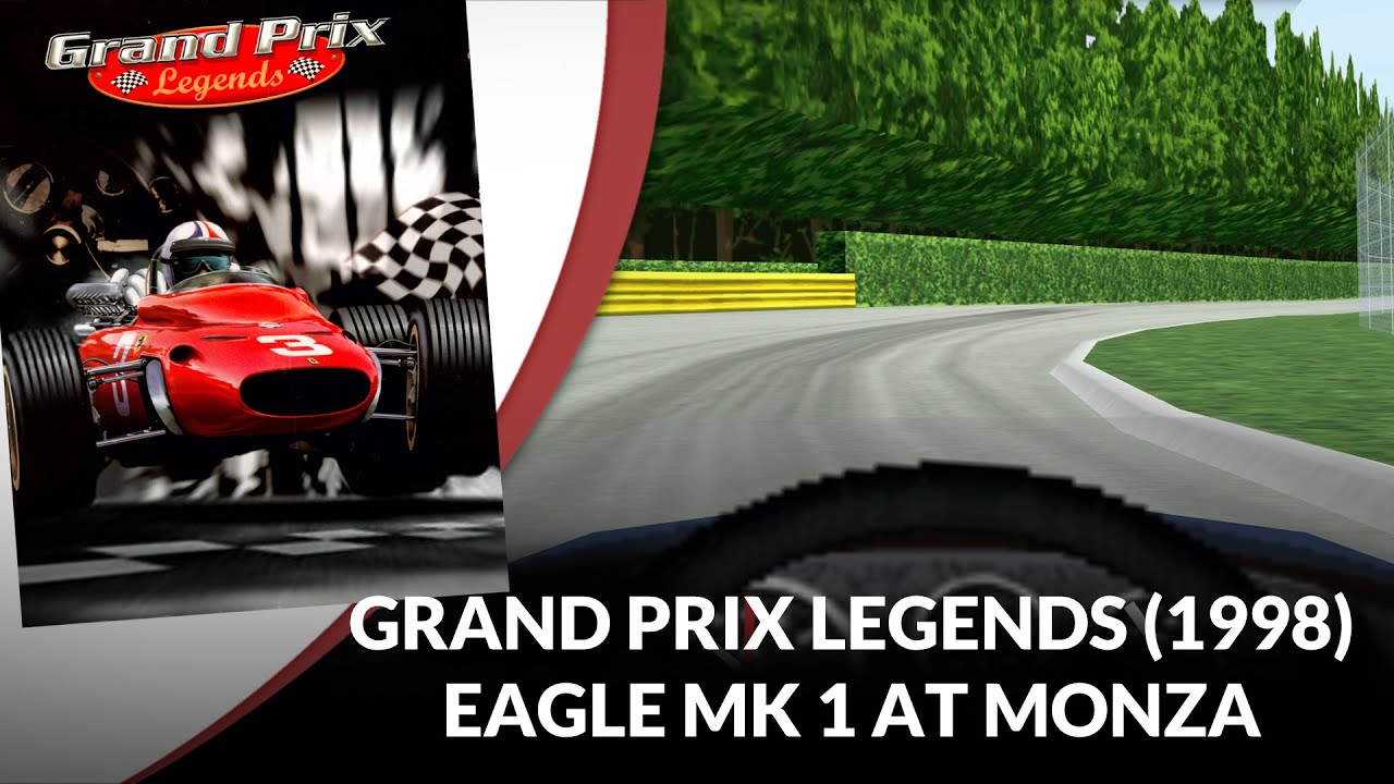Flashback 1998: Eagle at Monza in Grand Prix Legends
