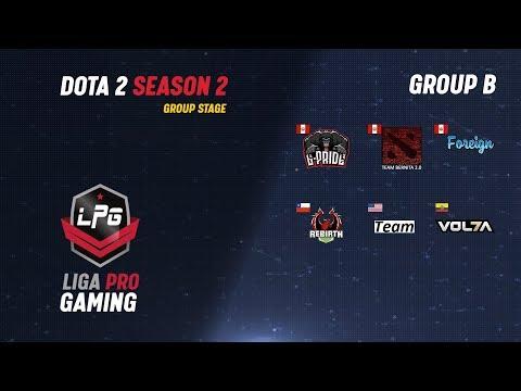 G-Pride vs Volta | Liga Pro Gaming Season 2 | Iwo & Lucky