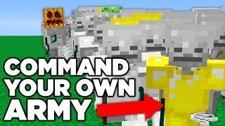 Minecraft ARMY OF SKELETONS