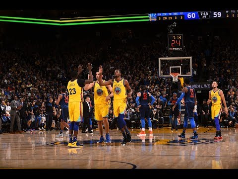 Best of The Warriors Ball Movement vs. The Thunder | February 24, 2018
