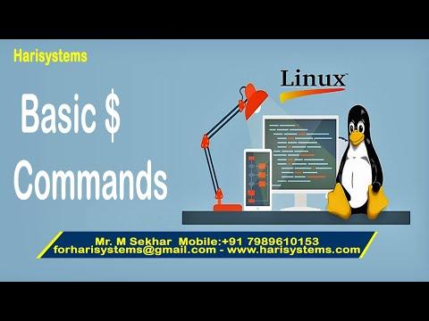 Linux tutorial for beginners | Linux basic commands mv reboot shutdown | Linux commands| harisystems thumbnail