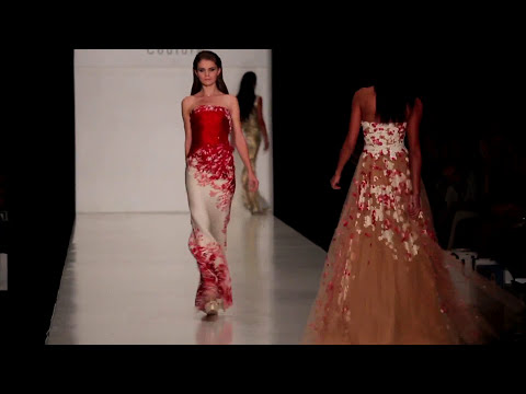 Tony Ward Fashion Show and Backstage With Miss Universe 2013
