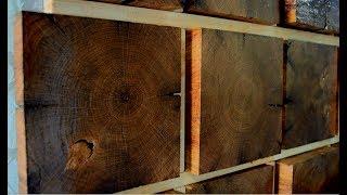 Oak wall decor