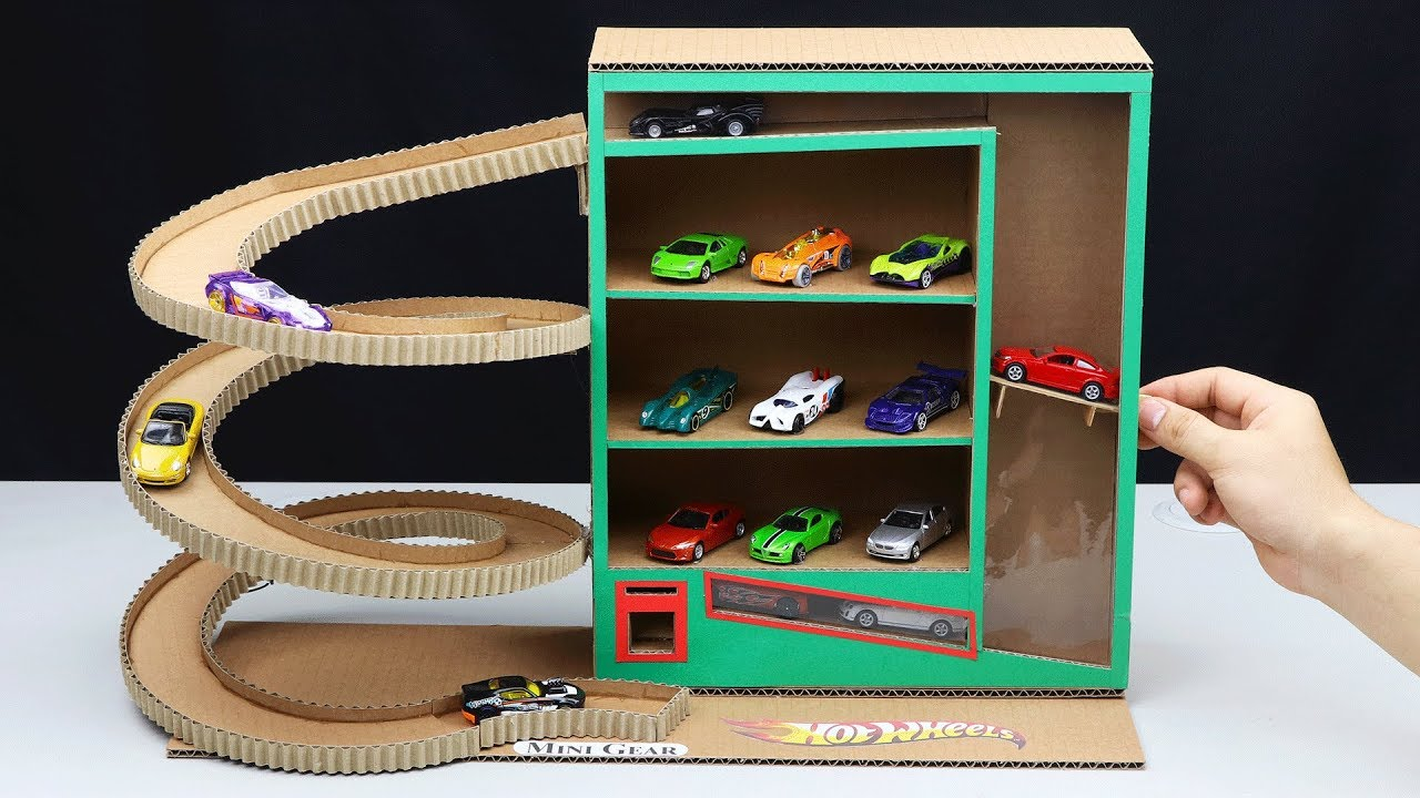 Download How to Make Vending Machine with Hot Wheels Cars