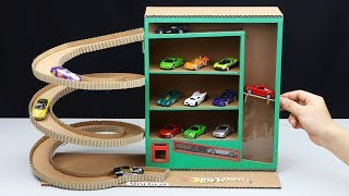 how to Make Vending Machine with Hot Wheels Cars