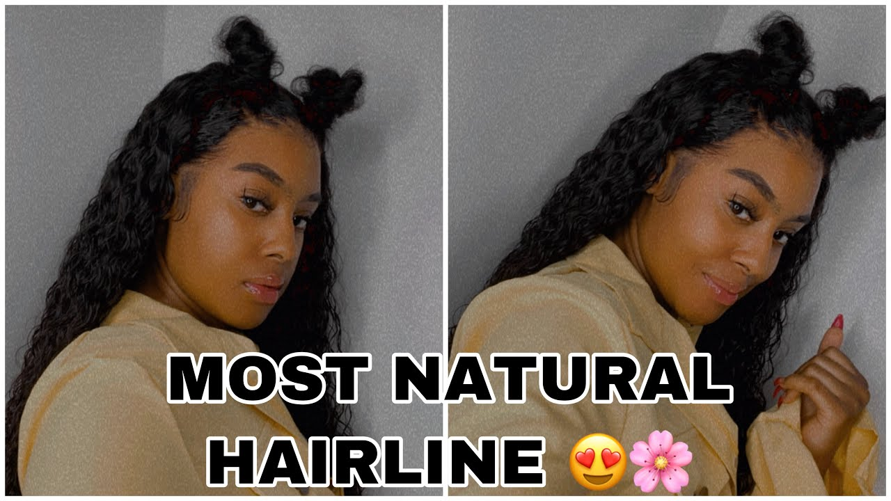 MOST NATURAL WIG HAIRLINE | PREPLUCKED + PRE BLEACHED Ft. Idefinewig