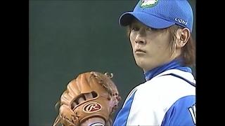 2008年西武巨人日本シリーズ第7戦 先発して中2日での登板も2イニング4奪...