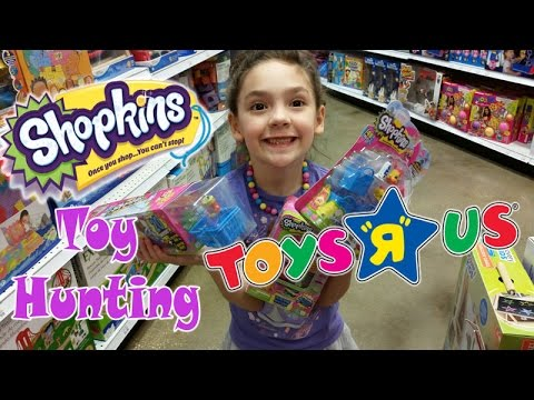 shopping for shopkins toy hunting toys r us orlando youtube. Black Bedroom Furniture Sets. Home Design Ideas
