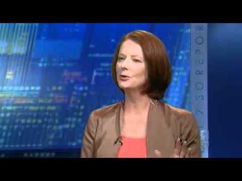 Gillard explains carbon scheme