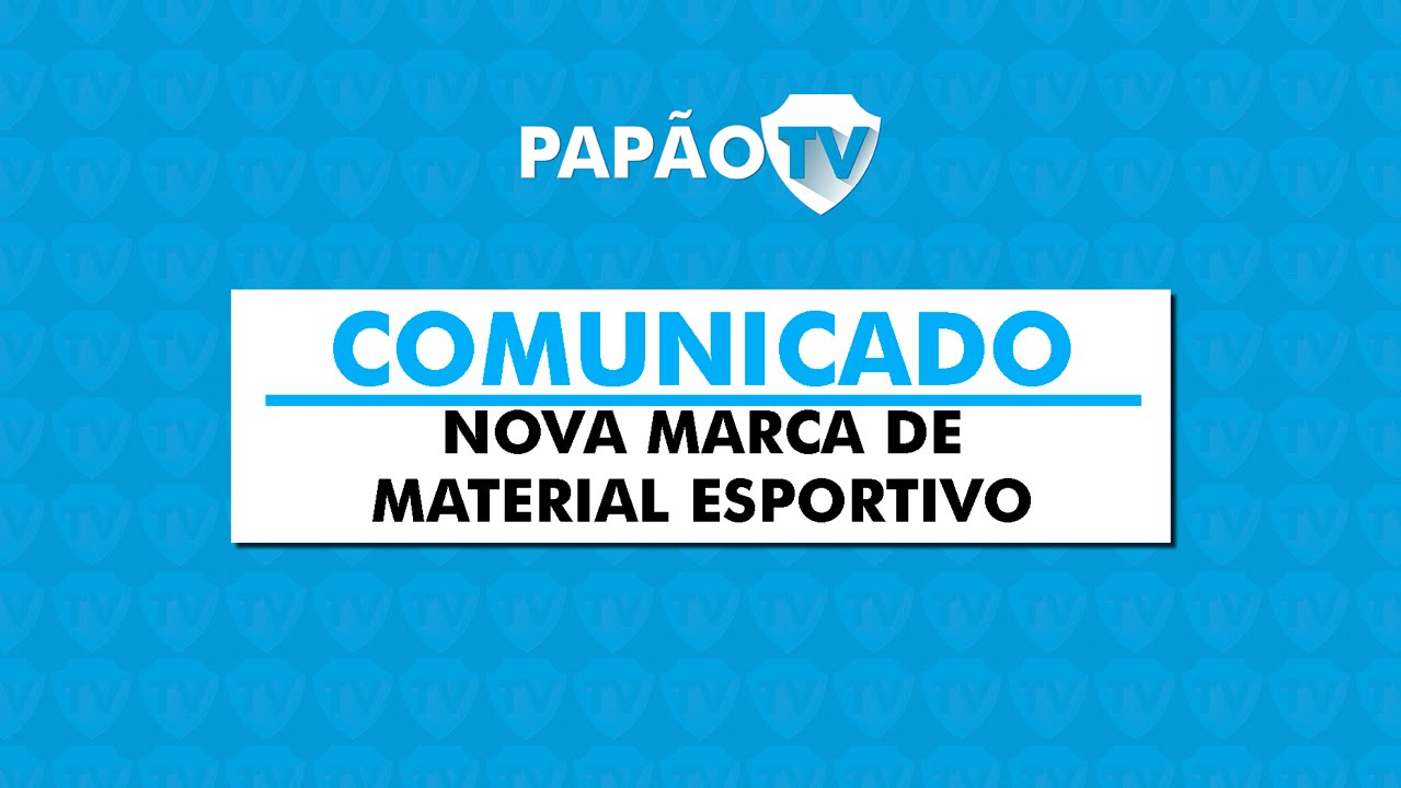 8b82d29b4 Comunicado - Nova marca de material esportivo - 07 01 2015 - YouTube