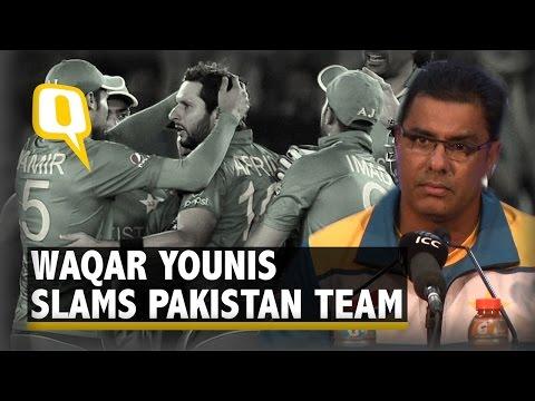 Waqar Younis Slams Pakistan Pakistan Team