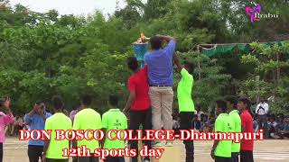 Don Bosco Arts and Science College Dharmapuri sports day
