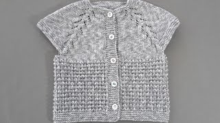 Bebek Yeleği Yapımı (3-12 ay )