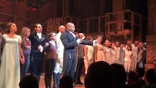"The ""Hamilton"" cast's message to Vice President-elect Mike Pence"