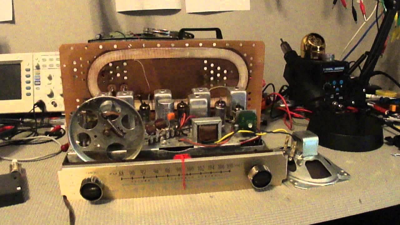 Zenith G730 Restored Radio