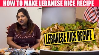How to make Lebanese Rice Recipe | Kalakkal Kitchen | LebaneseRice and Chicken Recipe