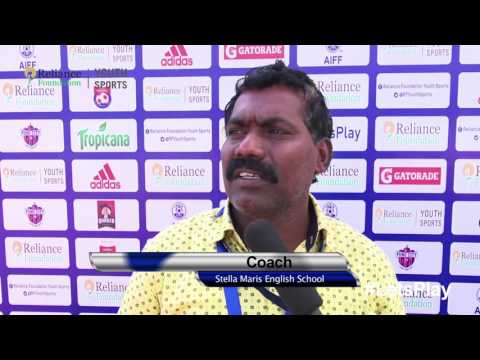 RFYS: Kolkata Jr. Boys - Pujya Kasturba Gandhi School vs Stella School Coach & Player Interview