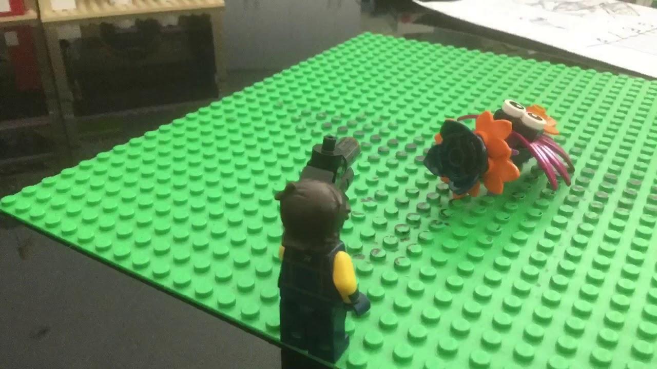 Rex Destruction (Lego Movie 11) Stop Motion - YouTube