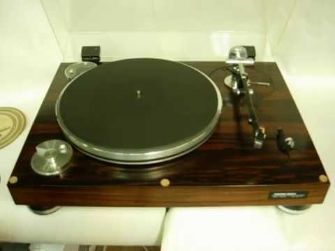 Micro Seiki BL-51 three-speed turntable demo