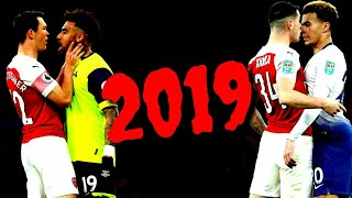"""ARSENAL"" BEST FIGHTS AND ANGRY MOMENTS 2018/2019. ALLI VS RAMSEY, KOLASINAC, XHAKA FIGHTS"