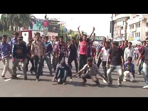 T20 Flash mob 2k14 |GSCian'15| [Govt. Science College]