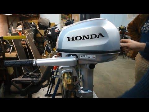 Honda BF6 AH SHU  (Инструктаж по использованию)