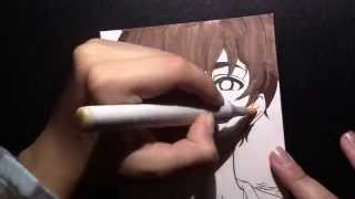 Speed Drawing 12(twelve) from the anime Zankyou No Terror