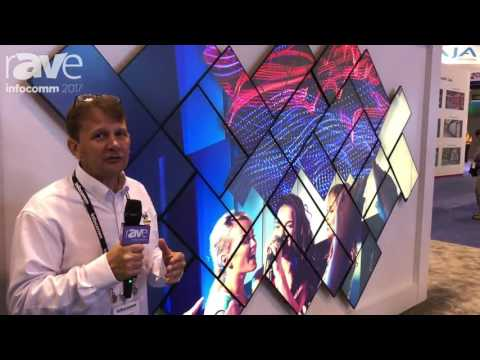 InfoComm 2017: ViewSonic Shows Their VP2468 Video Wall Display Solutions