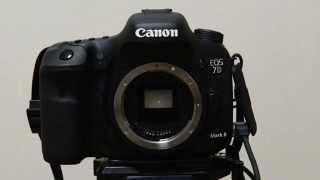 Canon EOS 7D MarkII Shutter Sound