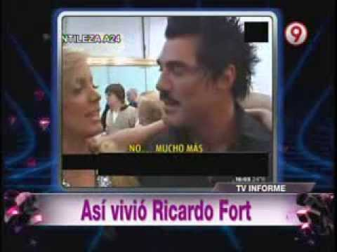 Bendita Tv 2013 ¡Asi Vivió Ricardo Fort!