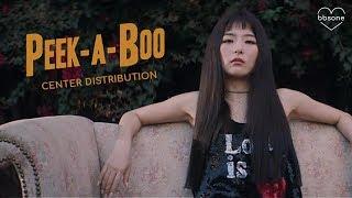Red Velvet - PEEK-A-BOO (Center Distribution)