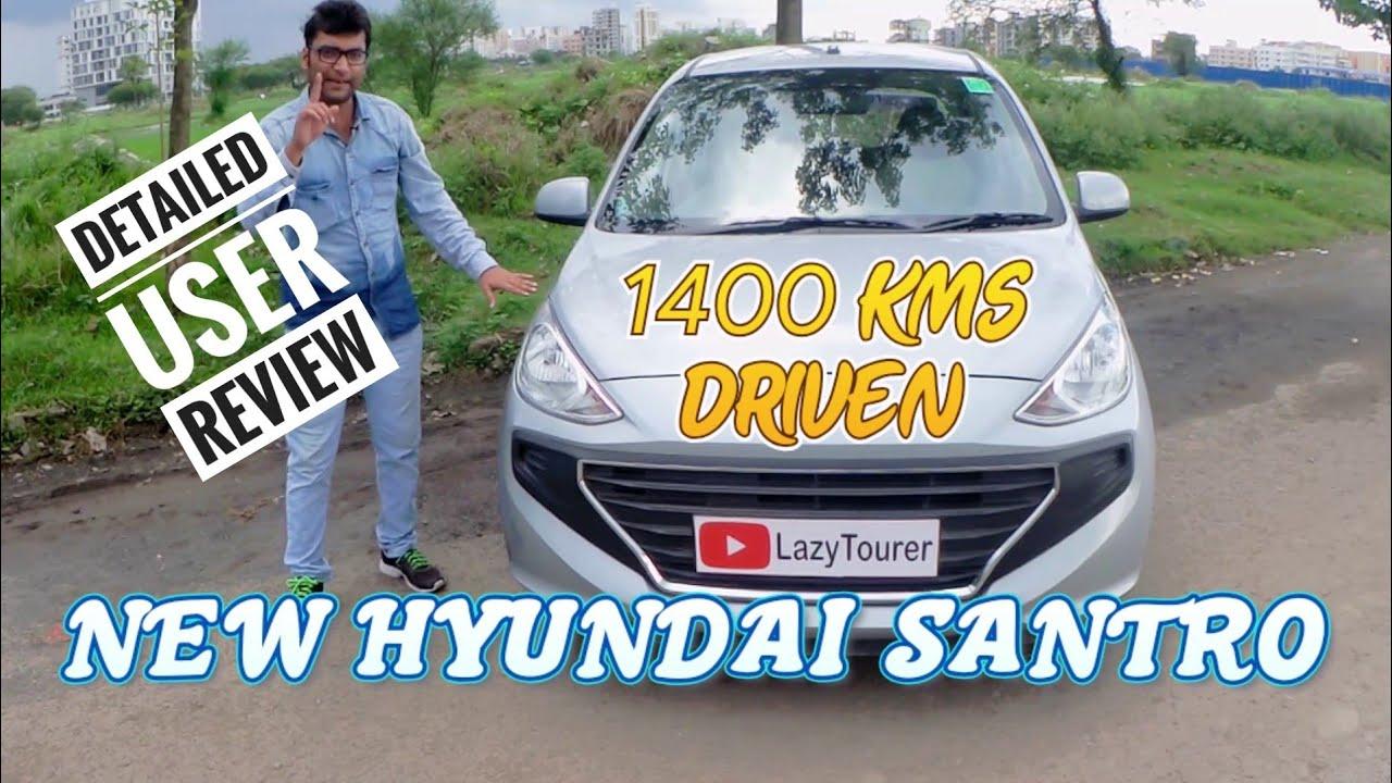 New Hyundai Santro User / Ownership Review - Hindi