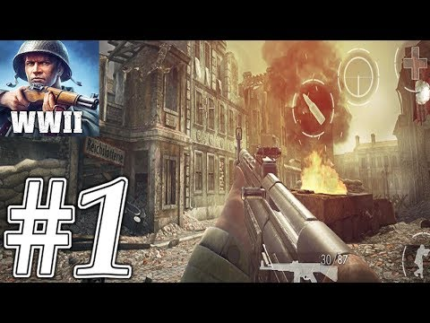 World War Heroes Android GamePlay #1 - Best Moments