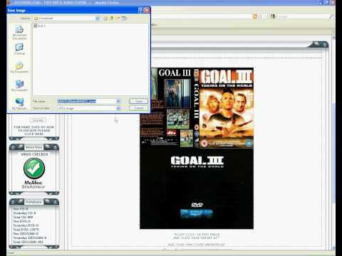 HOW TO DOWNLOAD DVD COVERS FROM X1COVERS.COM