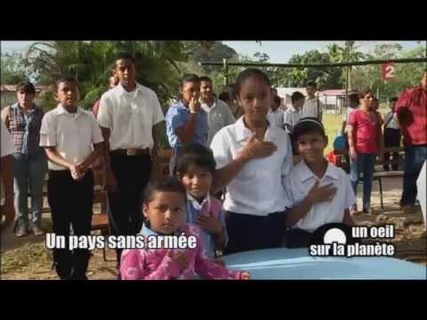 Un œil sur le planète - Costa Rica : le pays le plus heureux du monde ? 11/05/15