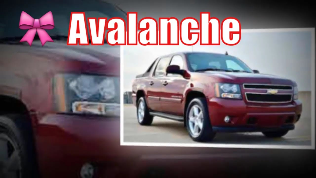 2020 Chevy Avalanche Truck 2020 Chevy Avalanche Release Date
