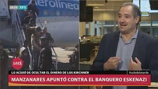 Diego Cabot: Manzanares acusó a Eskenazi de ocultar el dinero de los Kirchner