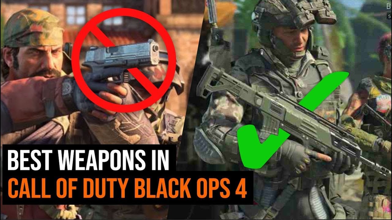 The 5 Best Weapons To Use In Black Ops 4