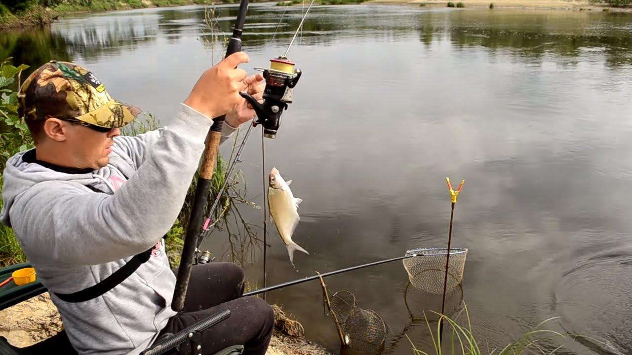 фидерная рыбалка на реке видео 2016