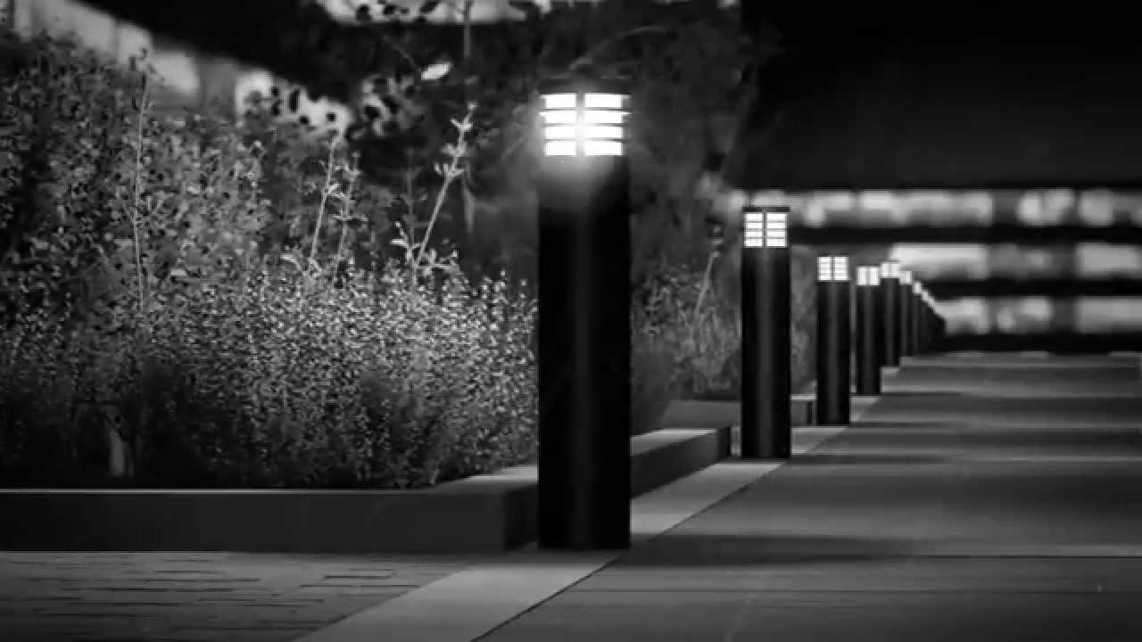 BEGA LED system bollards (English) - YouTube