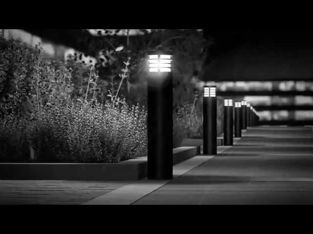 BEGA LED system bollards (English) - YouTube