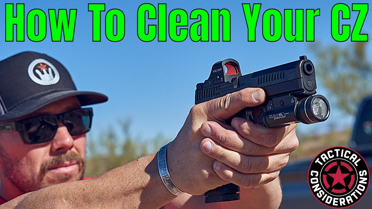 CZ P10C P10S P10F Cleaning New Pistol Owners Guide