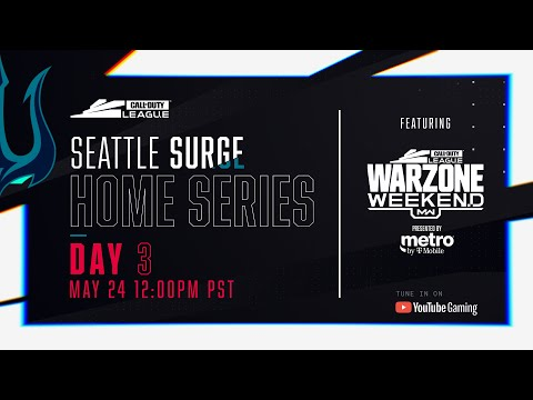 Call of Duty League 2020 Season | Seattle Surge Home Series | Day 3