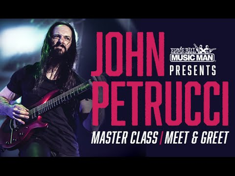 Ernie  Ball Music Man Presents: John Petrucci Master Class -  Right Hand Warm Up and Picking