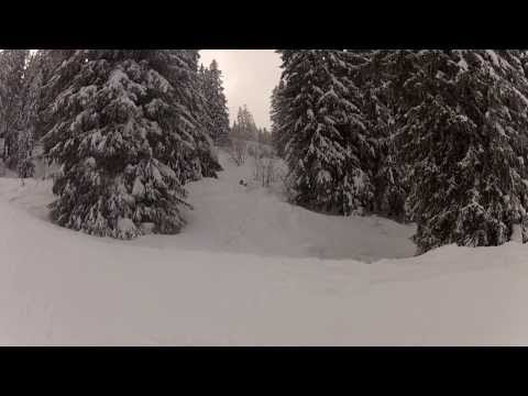 Ski aux portes du soleil janvier 2014