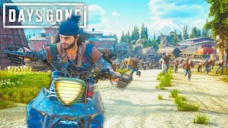 Attempting The Sawmill Horde Using Only Traps   Days Gone Survival Mode