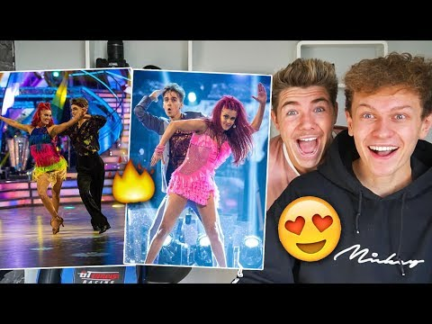 Joe Sugg and Dianne Buswell Dancing Compilation